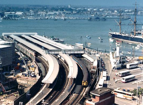 Regeneration of Portsmouth Harbour Railway Station