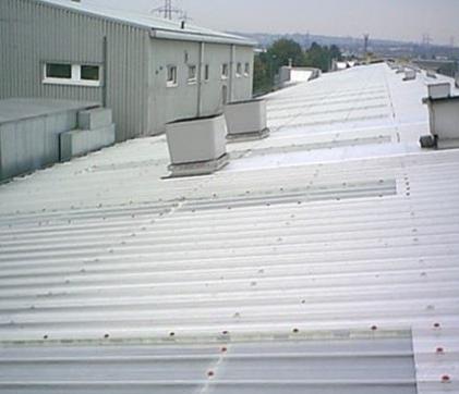 St Phillips Marsh Railway Depot Bristol Gable Roofing