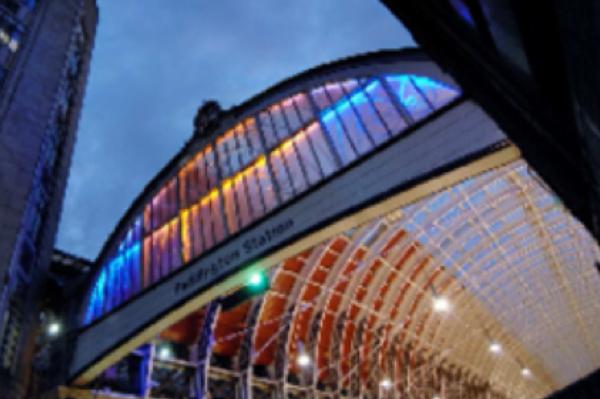 Paddington Railway Station, London