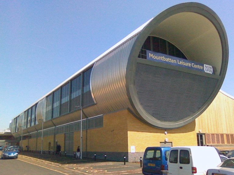Mountbatten Centre Portsmouth Gable Roofing